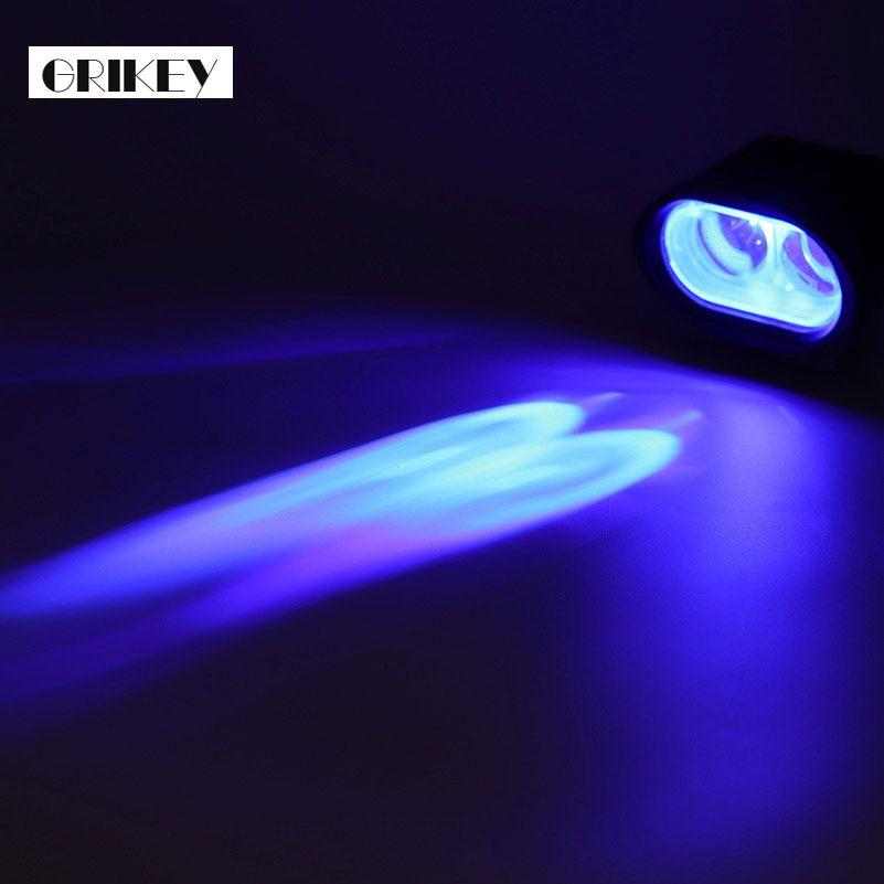 Lumière bleue chariot élévateur Spot conduite lampes de travail LED LED lampe d'avertissement barre 10 W 1000LM 2 pièces
