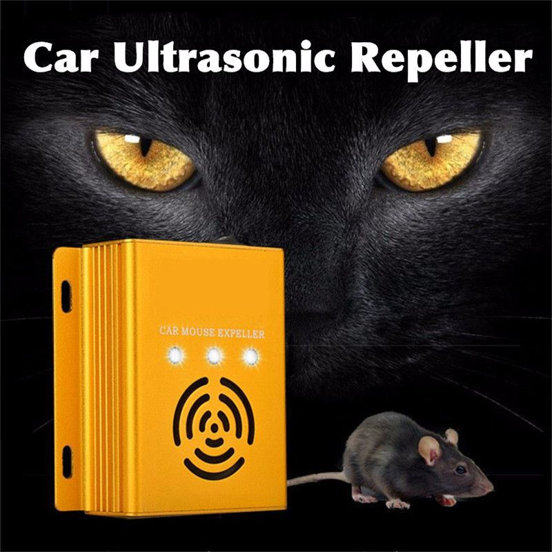 Car Ultrasonic Electronic Pest Control Rodent Rat Mouse Repeller Mice Mouse Repellent Anti Mosquito Mouse Repeller Rodent