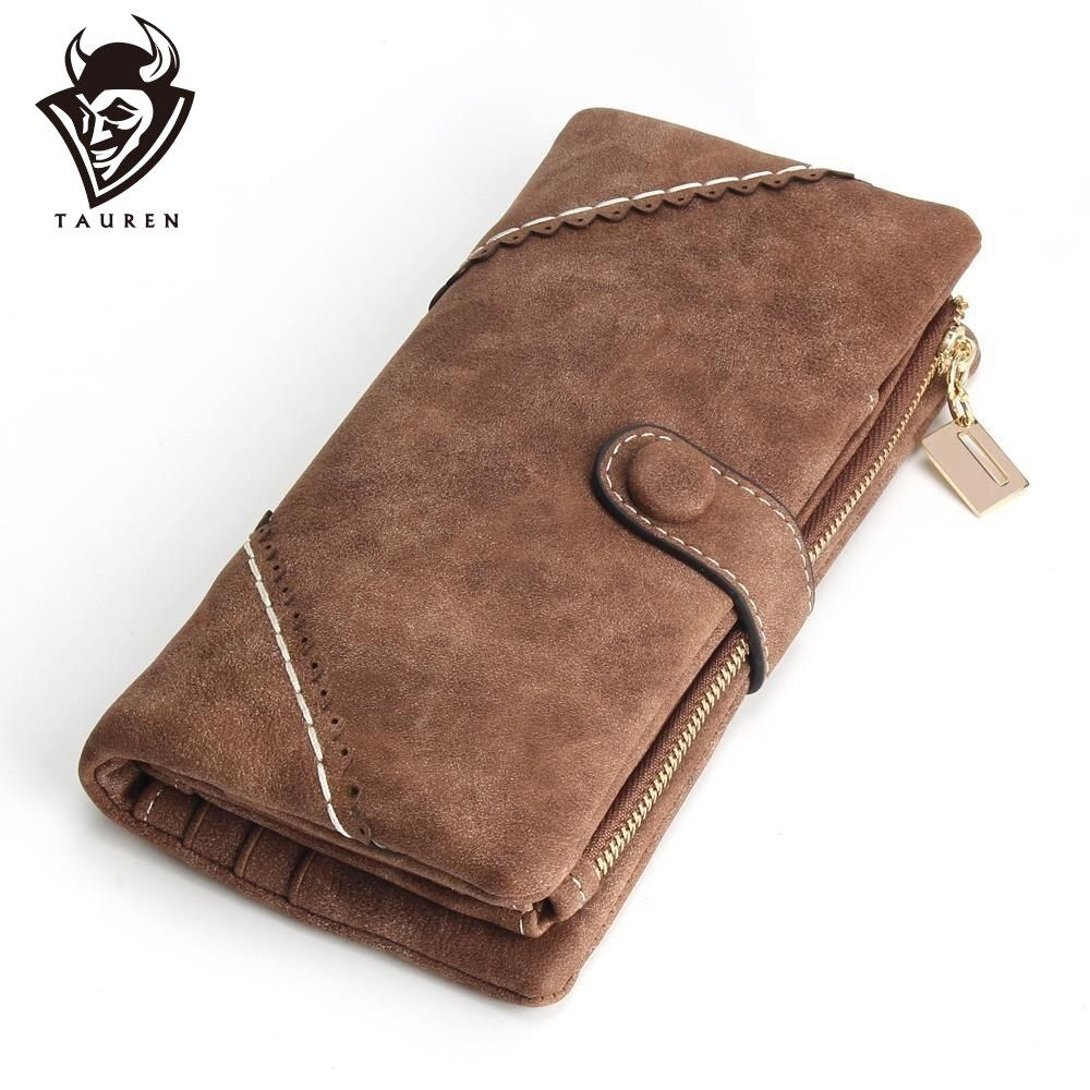 2019 nouvelles femmes portefeuilles porte-monnaie pour téléphone carte portefeuille en cuir sac à main Ms givré Long sac à main Vintage boucles dentelle portefeuille