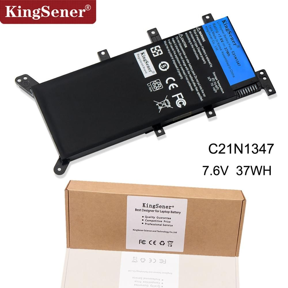 7.5V 37WH KingSener C21N1347 New Laptop Battery For ASUS X554L X555 X555L X555LA X555LD X555LN X555MA 2ICP4/63/134 C21N1347