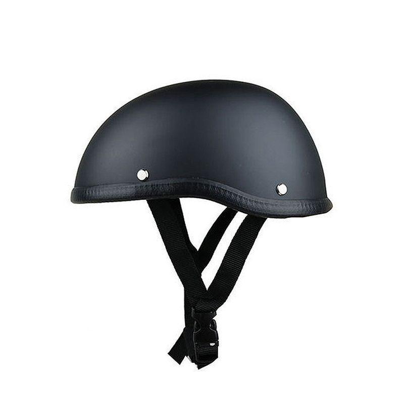 Casquette crâne casque moto Vintage demi visage casque rétro Style allemand chopper Cruiser
