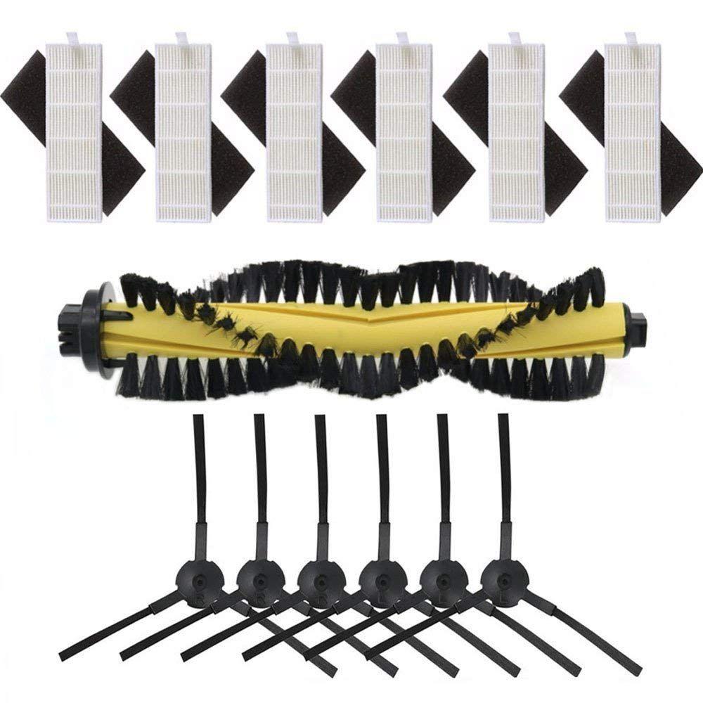 Meilleurs accessoires de remplacement pour ILIFE A4 Robot aspirateur-HEPA filtre éponge Main brosse brosses latérales