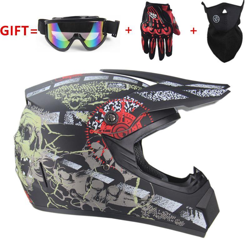Livraison gratuite moto adulte motocross hors route casque ATV Dirt bike descente vtt DH casque de course casque de cross capacetes