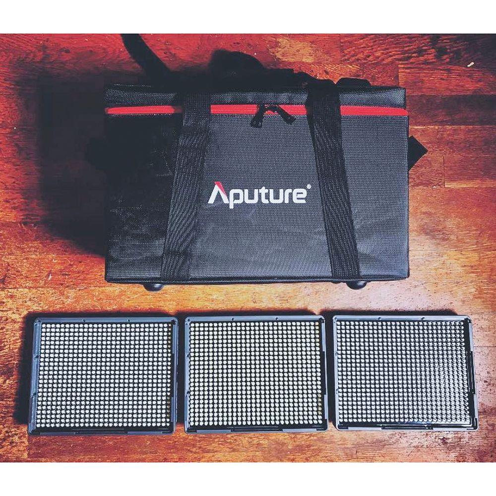 Aputure Amaran LED Video Kamera Licht Set HR672 KIT Fotografie Licht LED Licht Video für Youtube Beleuchtung Professional Studio