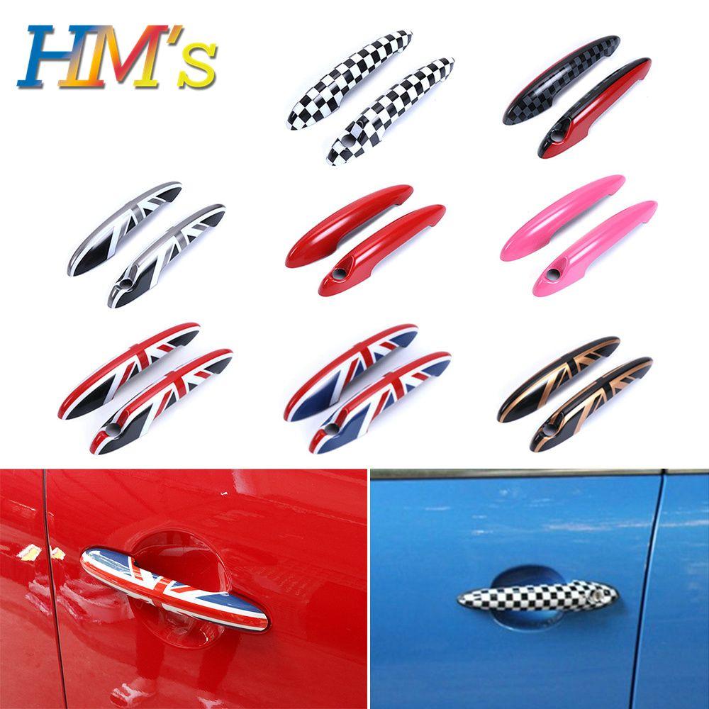 Für MINI Countryman Clubman Türgriff Aufkleber Aufkleber Für MINI Cooper R55 R56 R57 R58 R59 R60 R61 Auto Styling zubehör