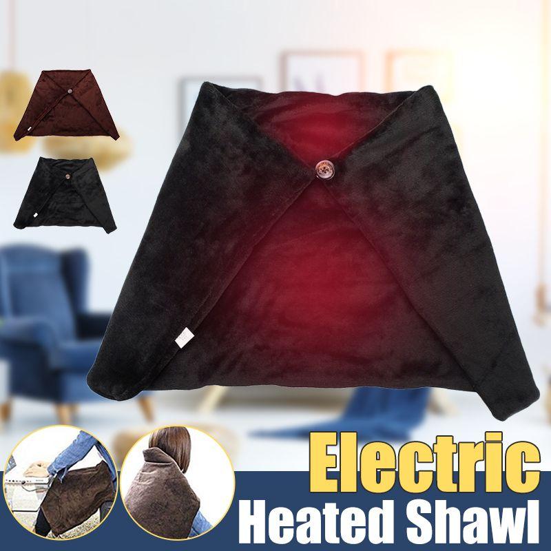 Neue 4 W 45x80 cm Auto Hause Elektrische Erwärmung Heizung Decke Pad Schulter Neck Mobile Heizung Schal USB weiche Winter Warme Gesundheit Pflege
