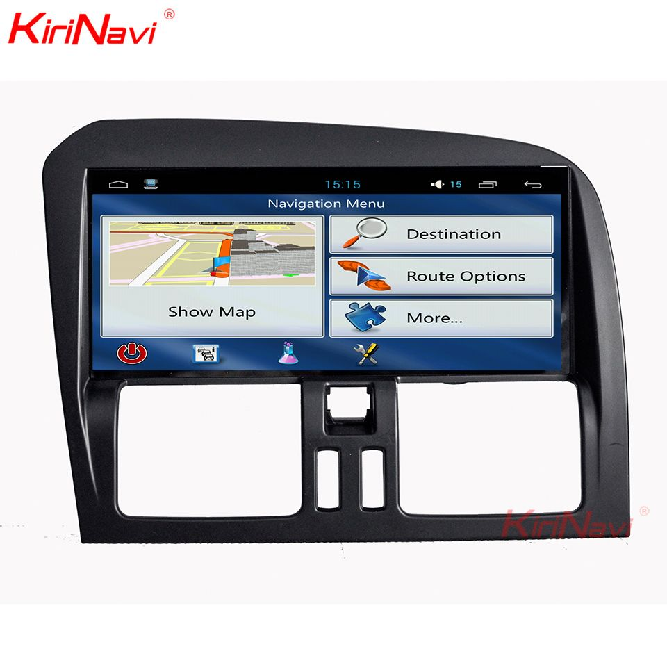 KiriNavi 8,8 Zoll Wide Screen Android 9.0 Auto Radio Multimedia Für Volvo XC60 Navigation GPS Bluetooth DVD Player 2009-2015