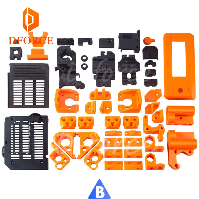 D-FORCE PETG material volle gedruckt teile für DIY Prusa i3 MK3 bär upgrade 3D drucker nicht pla material