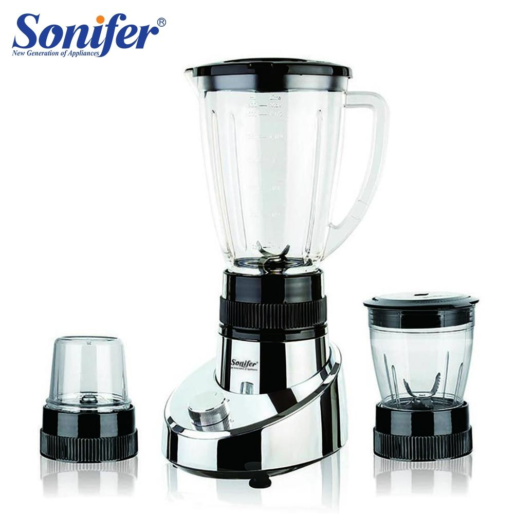 400W Multifunction 3 in 1 electric food blender mixer kitchen standing blender vegetable Meat Grinder Sonifer