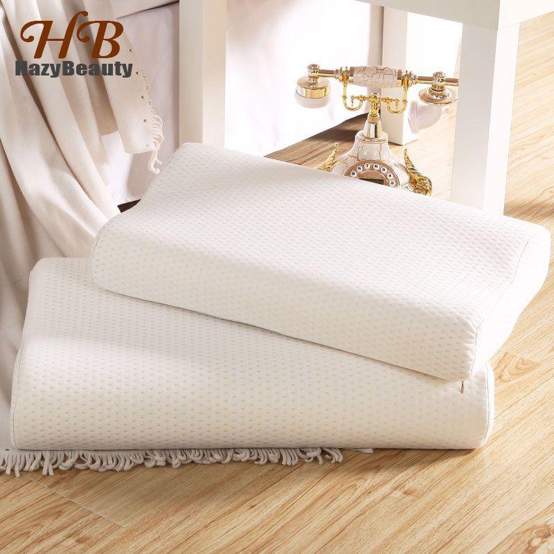 60x40 cm adulte lent rebond oreiller en mousse à mémoire cervicale orthopédique cou santé oreillers de lit pour dormir Almohada ortopambula
