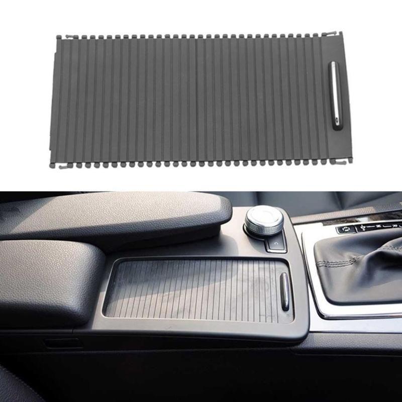 1 stücke Kunststoff Center Konsole Abdeckung Rutsche Rollo A20468047089051 für Mercedes Benz C Klasse W204 S204 E Klasse W212 s212