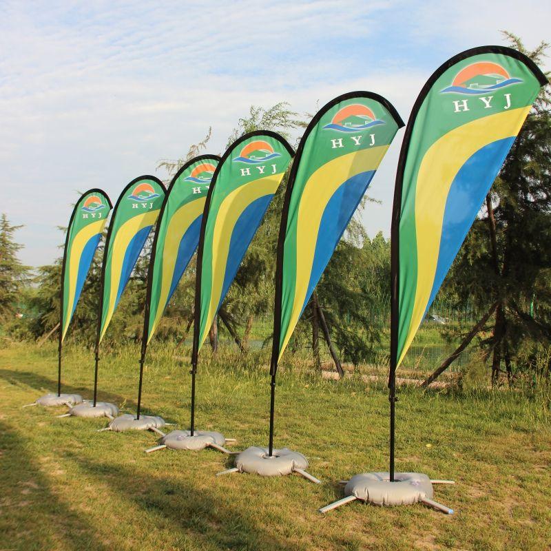 Fahnen Und Banner Teardrop Strand Flagge Und Fahnenmast Mit Basis Grafik Individuell Bedruckte Flagge Außenwerbung Förderung Event