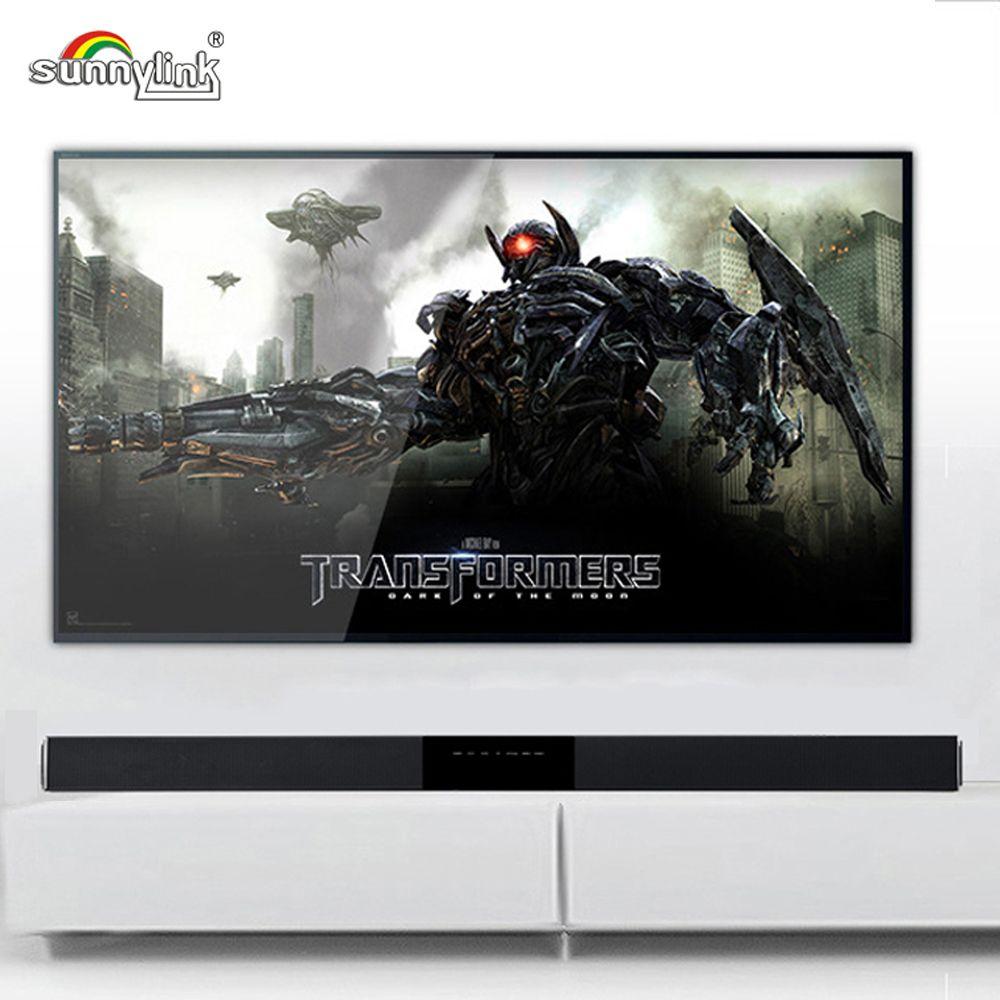 ULTRA SLIM ALUMINUM TV SOUNDBAR/SOUND BAR SPEAKER BLUETOOTH 4.0 POWERFUL BASS AND 3D SURROUND SOUND HI-FI SMART TV /PC SPEAKER