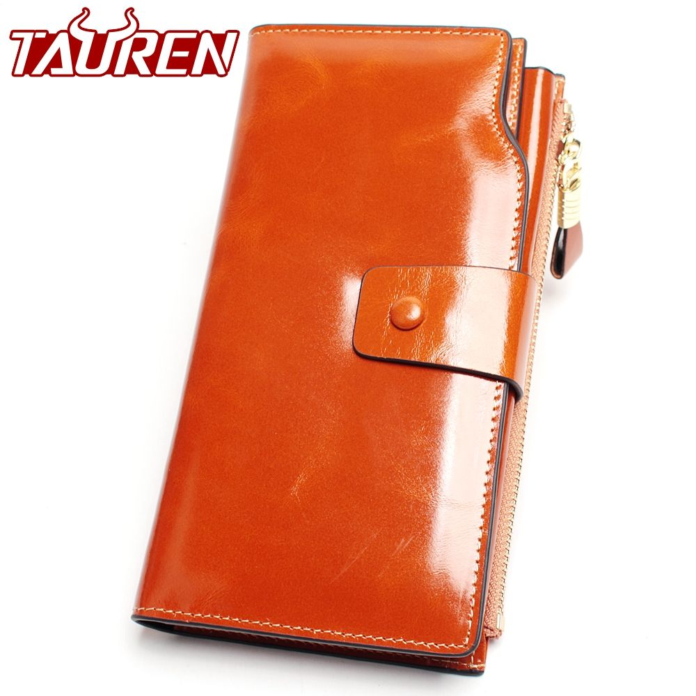 2018 New Design Fashion Multifunctional Purse Genuine Leather Wallet Women Long Style Cowhide Purse Wholesale And Retail Bag