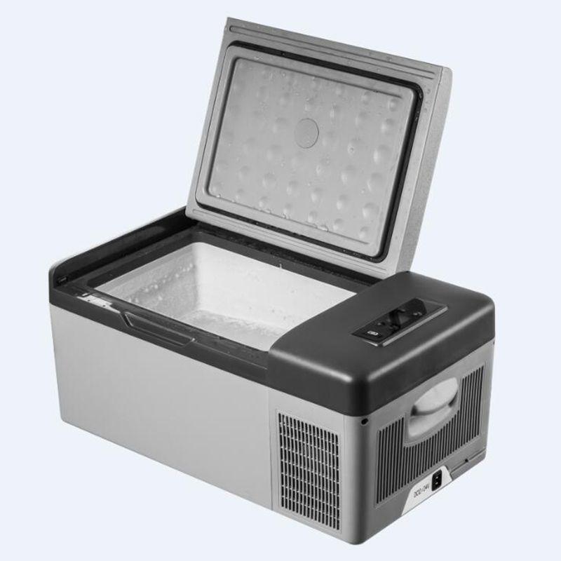 15L AC/DC Tragbare Kühlschrank für Auto Startseite Picknick Camping Party Premium Qualität LED Digital Display Schnell Kälte