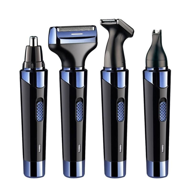 4 in 1 Men Electric Ear Nose Removal Trimmer Razor USB Charging Face Care Eyebrow Shaving Clipper Hair Trimer For Men