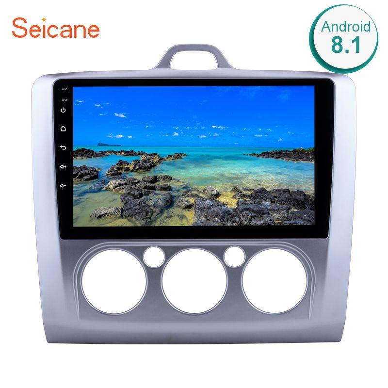 Seicane 9 zoll Android 8.1 Auto Radio Für ford focus EXI MT 2 3 Mk2 2004 2005 2006 2007 2008 2009 -2011 2Din GPS Multimedia-Player