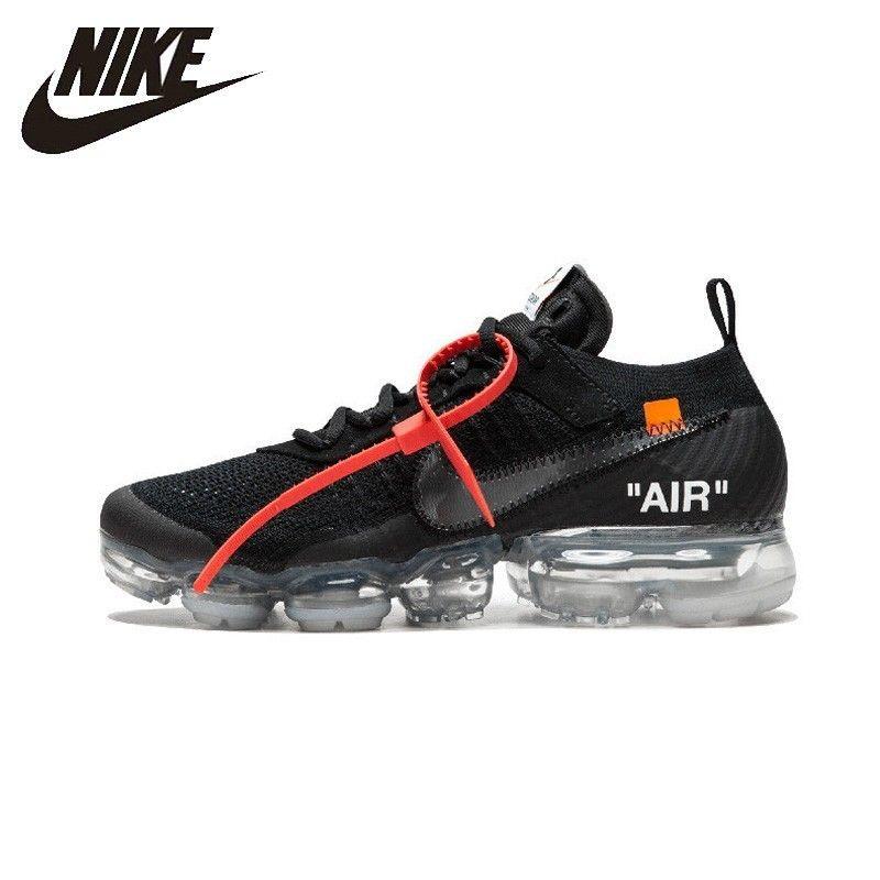 NIKE Off White X Nike Air Dampf Max OW Unisex Laufschuhe Schuhe Super Licht Bequeme Turnschuhe Für Männer Schuhe # AA3831