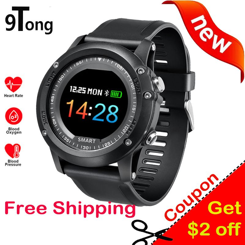 9Tong Smart Watch Blood Pressure Monitor Smartwatch Bluetooth Touch Screen Smart Watch Fitness Sleep Tracker for Andriod