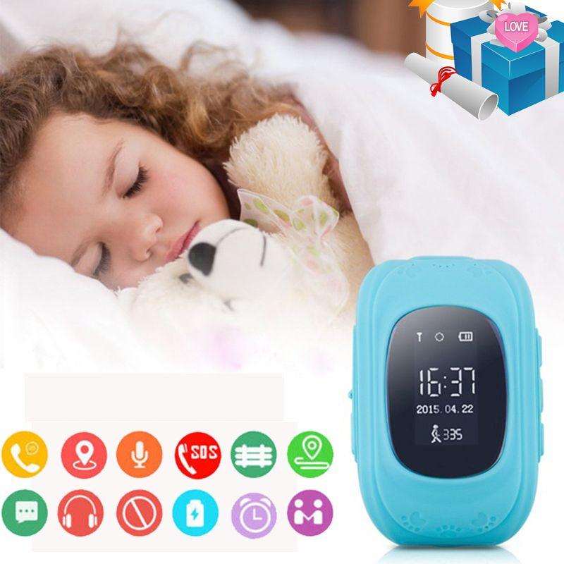 Hot <font><b>Sale</b></font> Baby Smart Watch GPS Children Smartwatch Kids Q50 OLED Child GPS Watch Phone Call Location Finder Tracker Anti Lost
