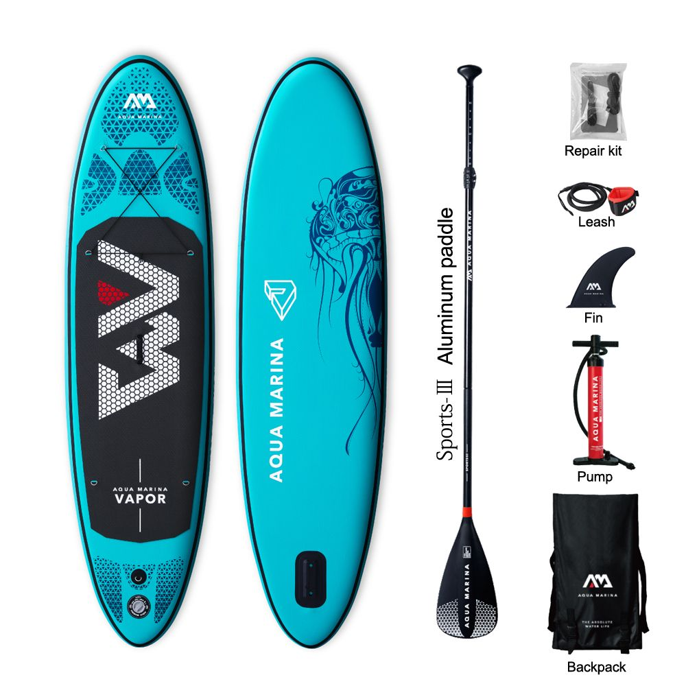 Heißer verkauf DWF Aqua Marina Dampf aufblasbare sup stand up paddle board surfen bord