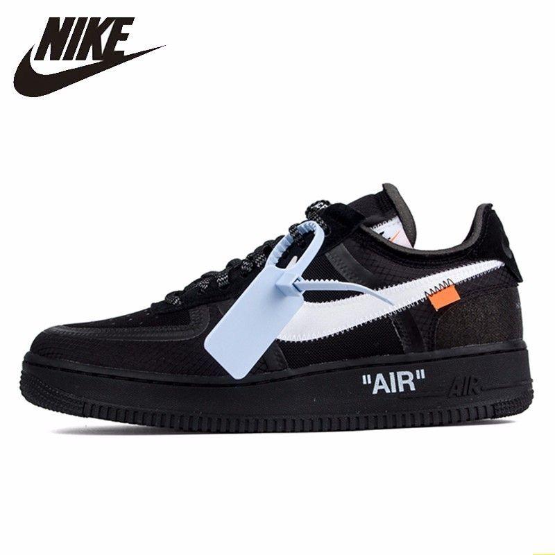 Nike Air Force 1 Original Off-weiß Ow Gemeinsam Männer Skateboard Schuhe Freizeit Sport Turnschuhe # AO4606-001