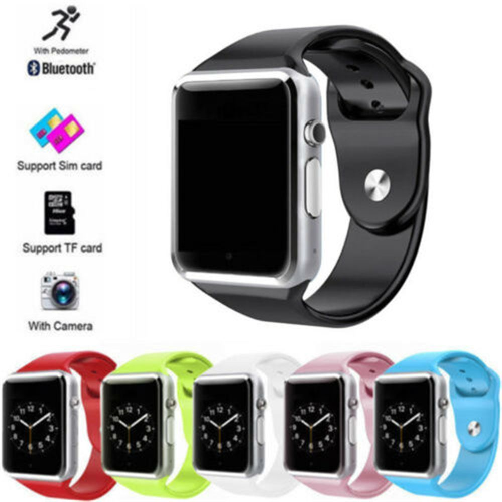 Android Wear A1 Smart Wrist Watch Bluetooth Waterproof GSM Phone Large-Capacity SIM SMS For Android Samsung iPhone