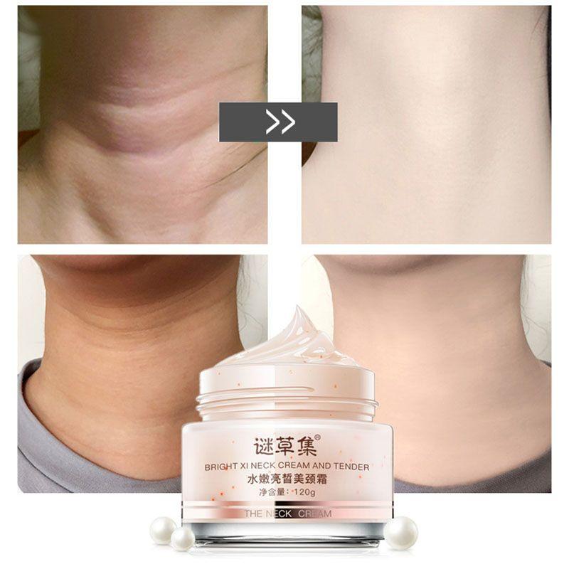 MICAOJI Neck Creme Entfernen Hals Linien Feuchtigkeitsspendende Pflegende Straffende anti-falten-Bleaching Straffende Hautpflege für Hals Pflege 120g