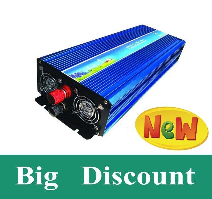 High efficiency 2000w peak power 4000W dc 12v 24v 48v to ac 120v 220v Pure Sine wave Power Inverter