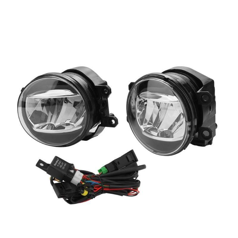 VODOOL 2 stücke Nebel Fahr Licht Lampe Harness Kit 81220/81210-48050 für Toyota Camry Lexus ES300 ES350 GS200 GS350 GS450H IST LX570