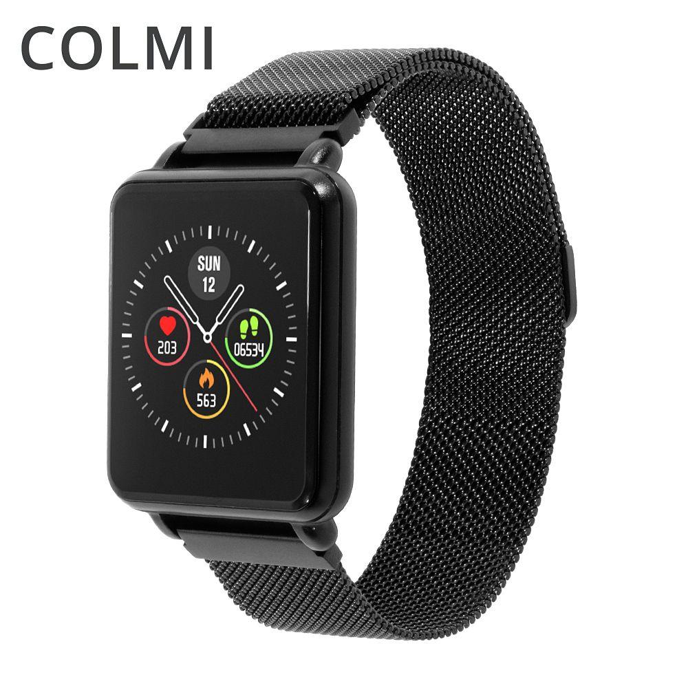 COLMI Land 1 montre intelligente à écran tactile complet IP68 étanche Bluetooth Sport fitness tracker hommes Smartwatch pour téléphone Android IOS