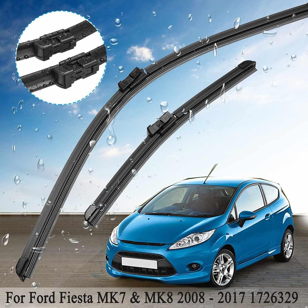 2 Pcs 25 zoll 14 zoll Auto Frontscheibe Fenster Wischer Blades Set 1726329 Für Ford für Fiesta MK7 & MK8 2008-2017