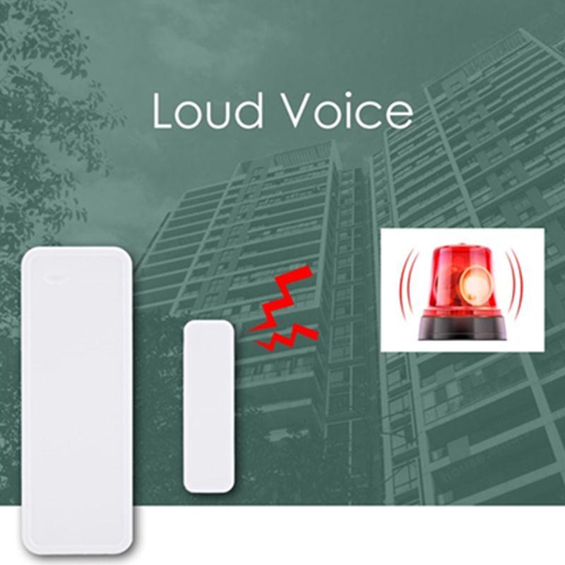 GS-WDS07 Drahtlose Tür Fenster Sensor Magnetische Streifen 433 MHz für Sicherheit Alarm Home System