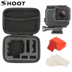 SCHIEßEN 45 M Unterwasser Wasserdichte Fall für GoPro Hero 7 6 5 Schwarz Go Pro Hero 6 7 Kamera Tauchen gehäuse Halterung für GoPro Zubehör