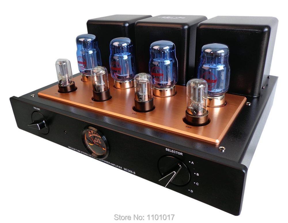 Meixing MINGDA MC368-B KT88 Push-Pull rohr verstärker HIFI EXQUIS 50wx2 integrierte lampe 6n8p (6SN7) AMP mit fernbedienung