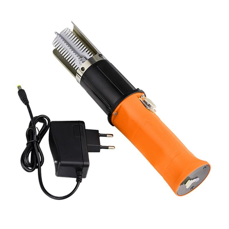 Electric fish scaler fishing scalers Rechargeable 12V Lithium Battery Stainless Steel Scraper Electric Scaler (With Batteries)