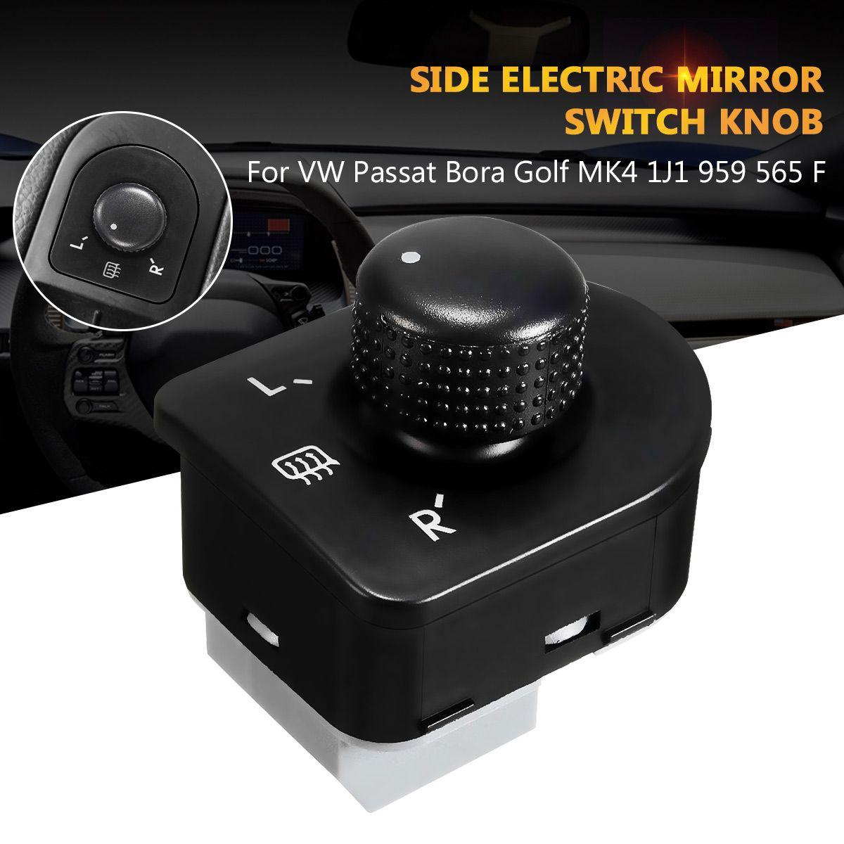 1 stück Left Side Control Master Einstellen Knob Seite Spiegel Schalter Taste Für VW Jetta Golf Mk4 Beetle Bora Passat 1J1959565F 1998-2006