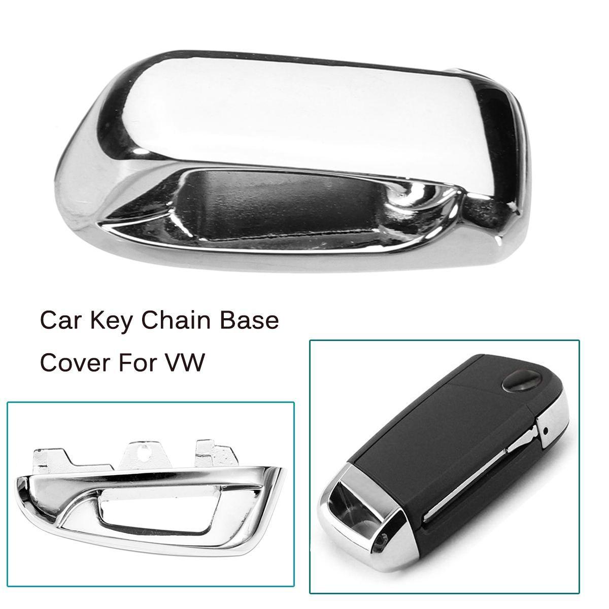 Fernbedienung Schlüssel Kette Metall Abdeckung Keyless Top Kopf Basis für Volkswagen für VW Golf 7 MK7 GTI Touran 2016 Octavia a7 2015 2016