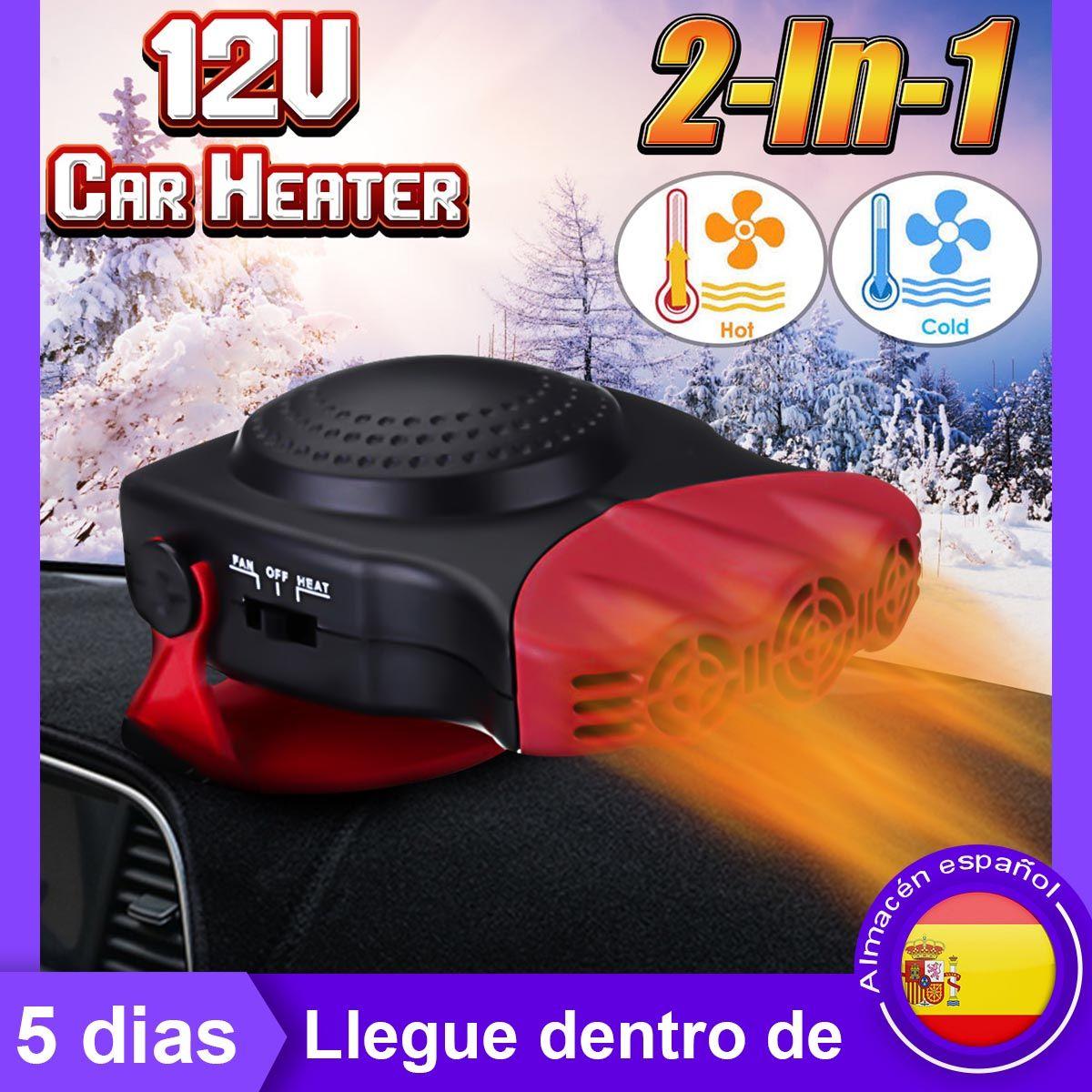 150 W DC 12 V Chauffage et De Refroidissement 2 dans 1 radiateur auto Chauffage Hot Cool ventilateur pour voiture Pare-Brise Fenêtre Antibuée Dégivreur