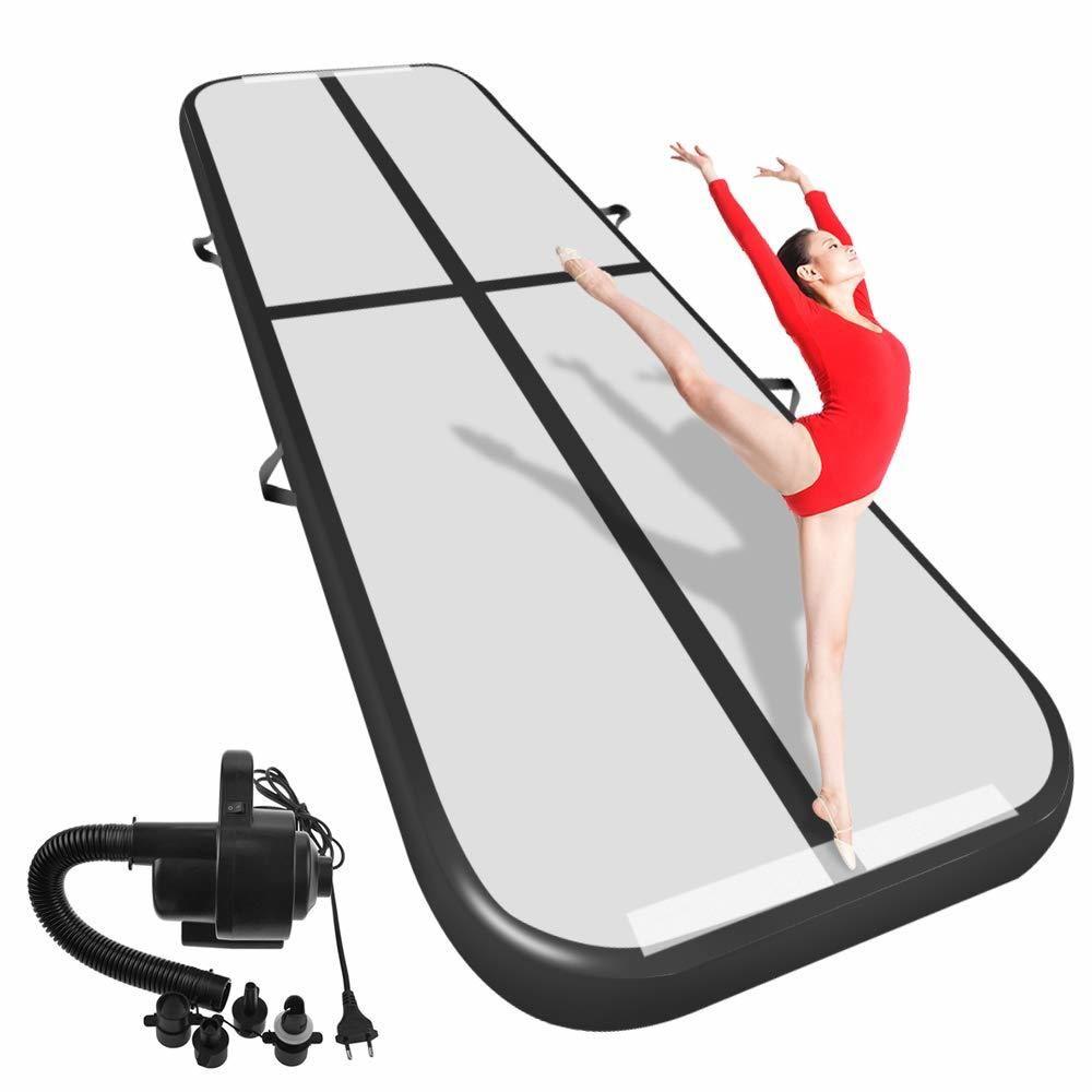 Freies Verschiffen 6 m/7 m/8 m * 1 m * 0,2 m Aufblasbare Gymnastik Airtrack Boden taumeln Air Track Für Kinder Erwachsenen Ein Freies elektronische Pumpe
