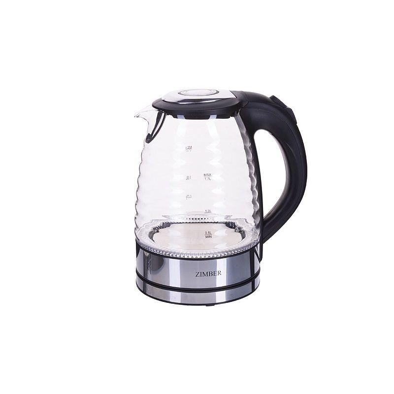 Чайник электрический ZIMBER, 1,7 л, 2200 W