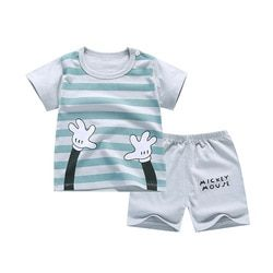 Cartoon Baby Boy Clothing Set Autumn New Style Infant Clothes Baby Girls Clothing Cotton Long Sleeve Baby Boy Clothes