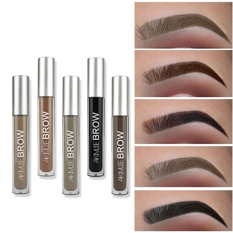 HEIßER Augenbraue Enhancer Tattoo Augenbraue Gel Farbton Make-Up Schnell Trocknend Wasserdicht Natürliche Lang Anhaltende Augenbraue Make-Up Gel augenbraue bleistift