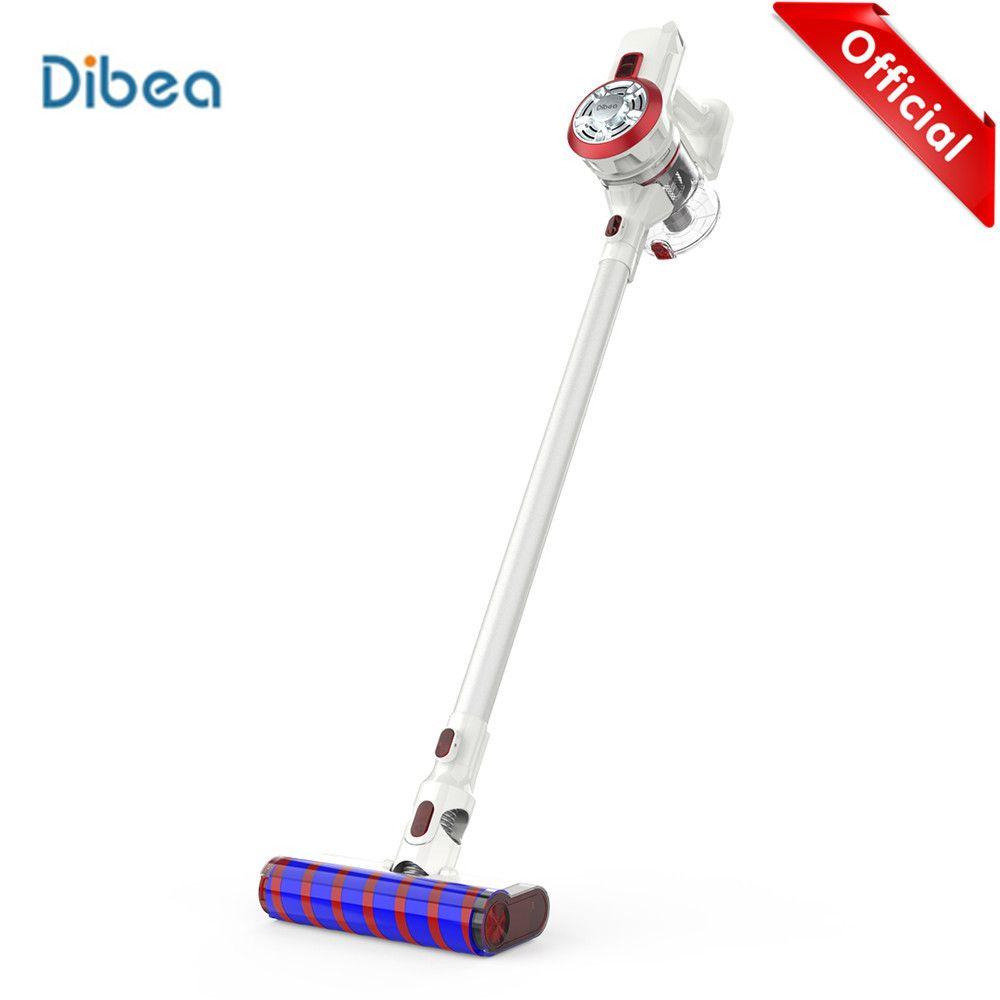 Dibea V008 Pro 2-In-1 Handheld Cordless Staubsauger Starken Sog Vakuum Staub Reiniger Geräuscharm Staub collector Sauger