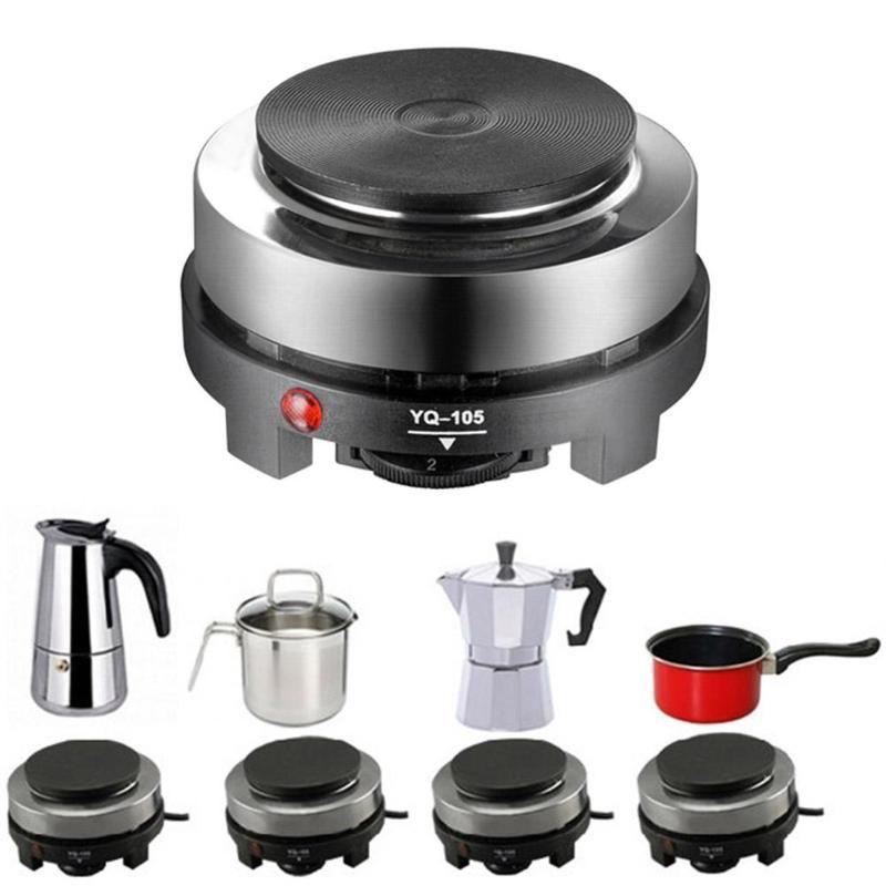 500 watt Mini Elektrische Heizung Herd Heißer Herd Platte Milch Wasser Kaffee Heizung Ofen Multifunktional Küche Appliance EU Stecker