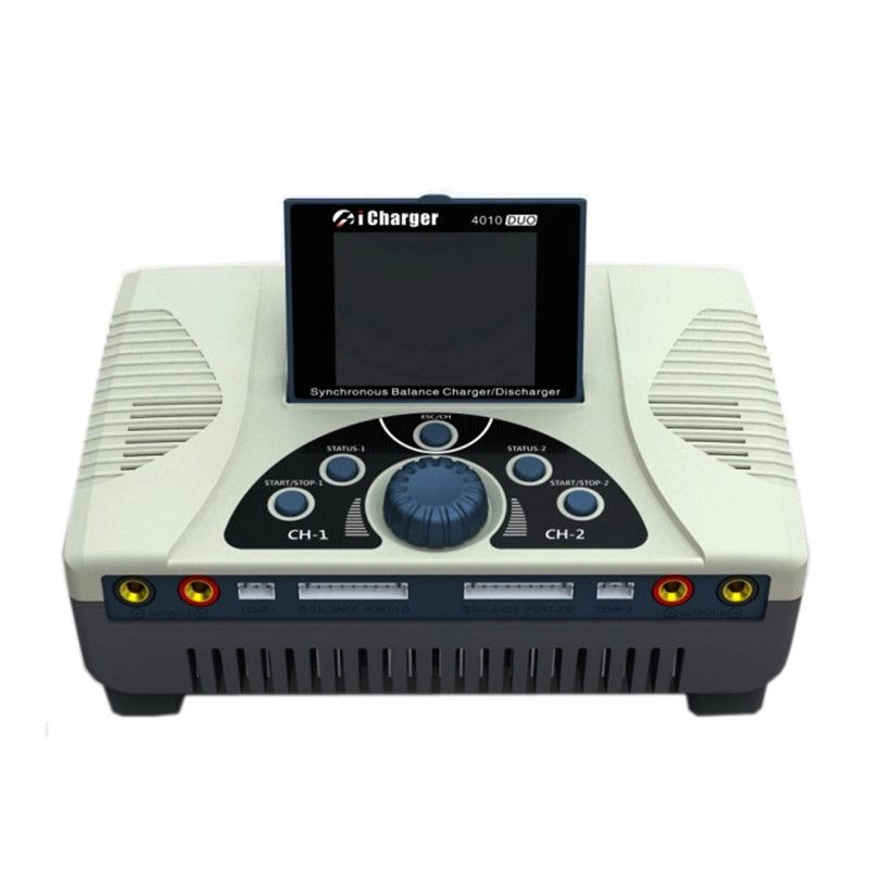 Hohe Qualität iCharger 4010 Duo 2000 W 40A DC Dual Batterie Balance Ladegerät Entlader für 1-10 S Lipo batterie