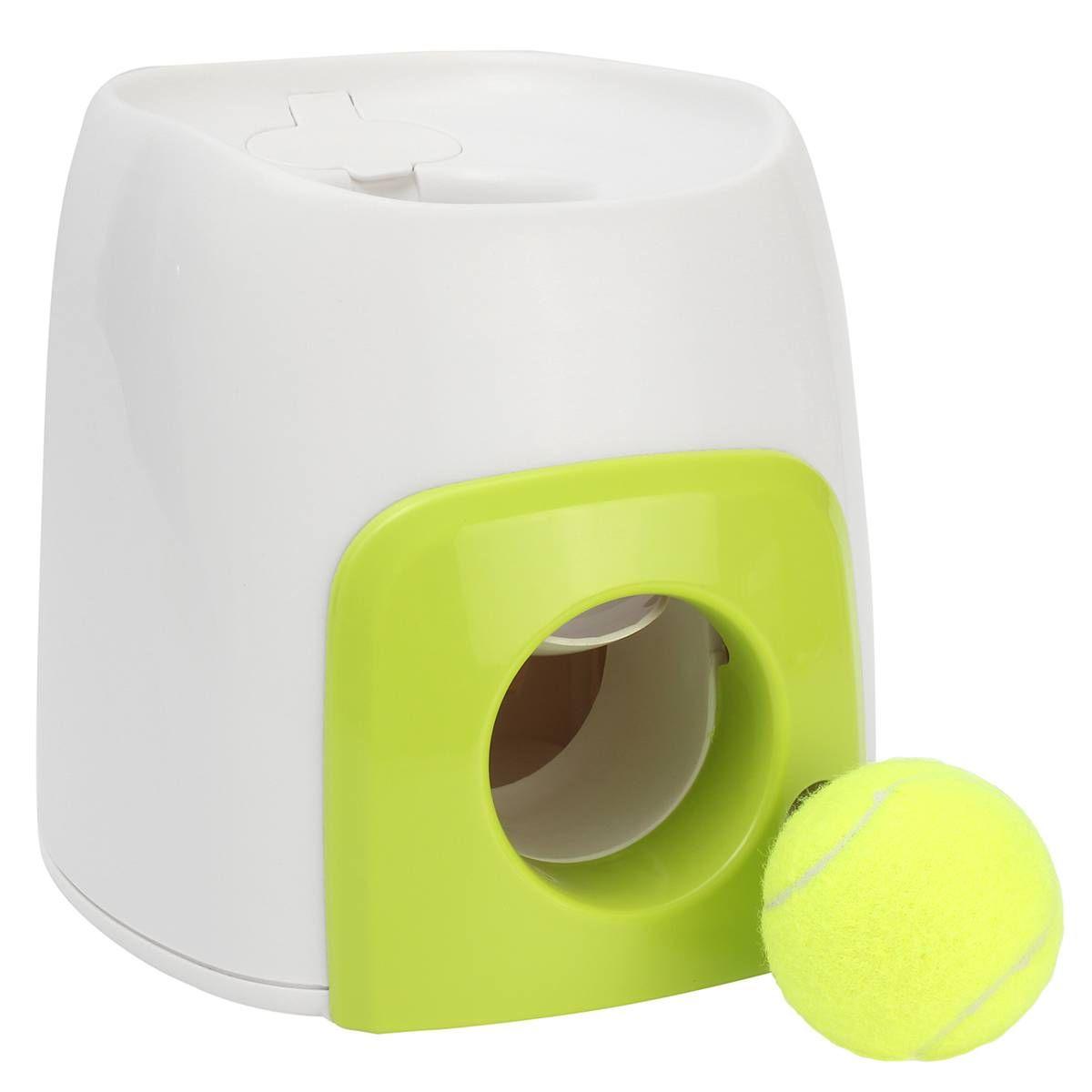 Hund Spielzeug Interaktive Fetch N Behandeln Katze Pet Tennis Ball Automatische Dispenser Trainer Pet Lustige Belohnung Maschine Spielen Ausbildung Spielzeug