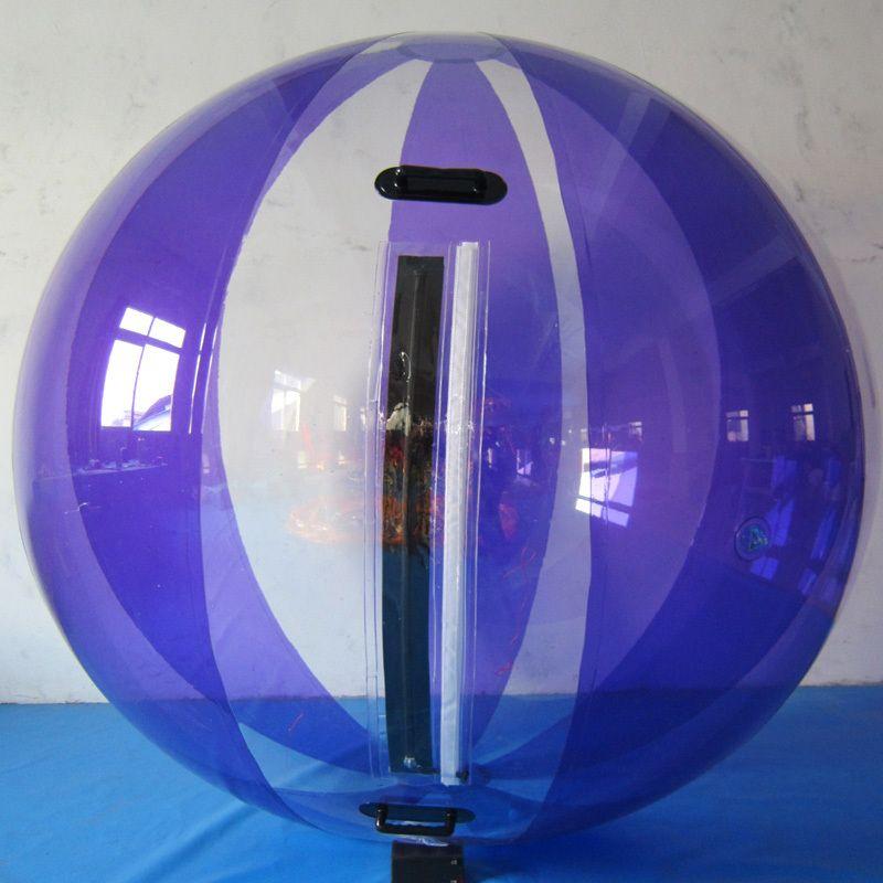 Kostenloser Versand Tpu 1,0mm 2,0 m Modische Waterballs Design, super Qualität Blase Fahrt, aufblasbare Wasser Zu Fuß Bälle mit Zipper