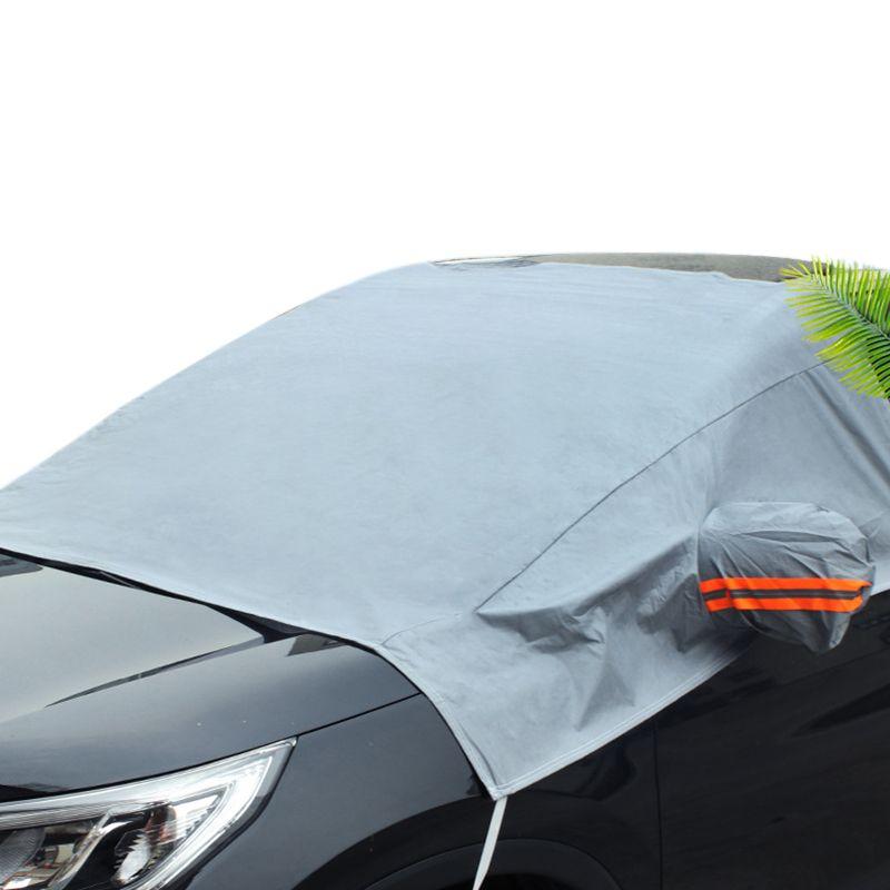 Pare-brise de voiture couverture pare-soleil protecteur hiver neige glace pluie poussière gel garde