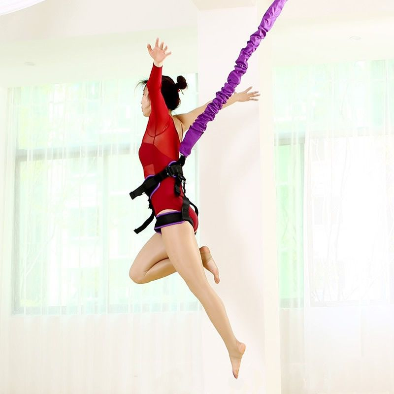 Bungee Dance Fliegen Suspension Seil Luft Anti-gravity Yoga Schnur Widerstand Band Set Workout Fitness Home GYM Ausrüstung